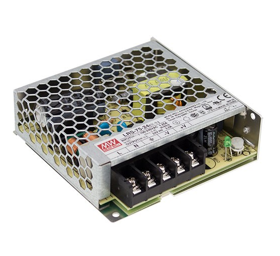 Mean Well LRS-75 75W Single Output Enclosed Switching Power Supply