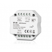 Skydance V1-H Led Controller 1CH*3A/6A 12-48VDC CV Dimming Controller (Push Dim)
