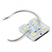 40Pcs 4LEDs SMD 5050 LED Module IP65 Waterproof DC 12V