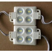 20Pcs 5730 4LEDs Injection LED Module DC12V IP65 for Advertising Board