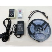 5M 6803 RGB LED Strip LPD6803 Pixel Light+RF Controller+Power Adapter