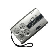 BC-R29 Mini Portable Radio Handheld AM FM Radio Stereo Speakers Music Player Dual Band Receiver Channel