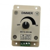 DC 12V 24V Dimmer Controller for LED Light 4pcs