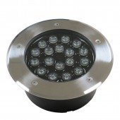 18W LED Inground Lamp Underground Deck Landscape Buried Flood Light