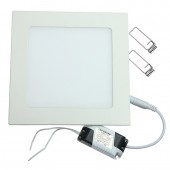 Ultra Thin Square LED Panel Light 6W 9W 12W 15W 25W Recessed Ceiling Lamp