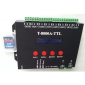 T8000A Digital T-8000A SD Card LED Controller For RGB Pixel Lights