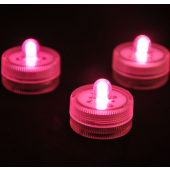 Waterproof Underwater Battery Powered Submersible LED Candle Light 2Pcs